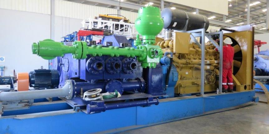 Emsco F800 Mud Pumps