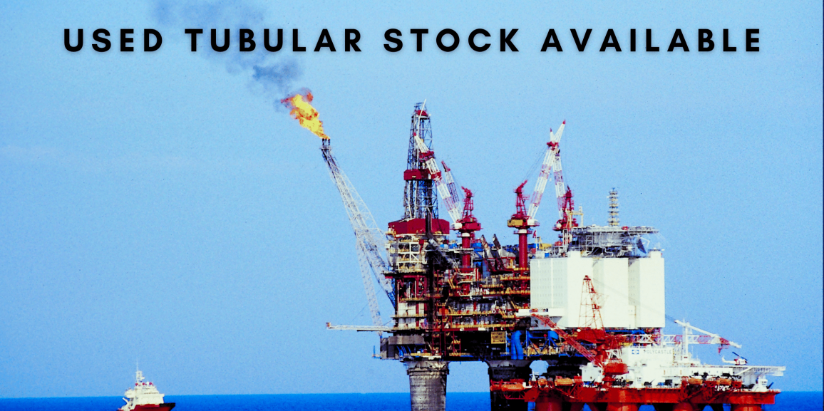 We Have Used Oil Country Tubular Goods Stock Available Now at Great Prices