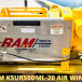 RAM K5UR50DML-20 Air Winch For Sale